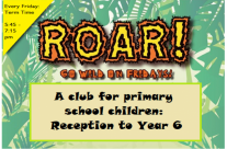 Tiger Tots & ROAR – back after Summer!