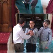 Baptism of Jiajing Zhang